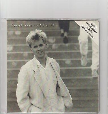 "Howard Jones- All I Want UK 7"" double pack single."