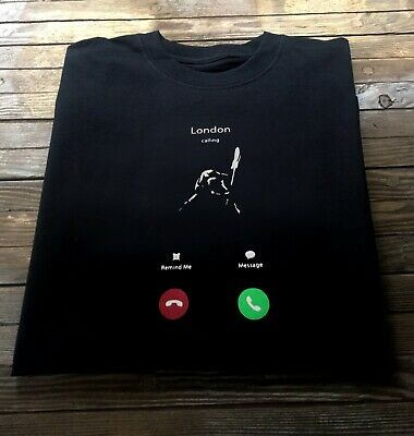The Clash T Shirt Inspired by London Calling Punk Tee Iphone Apple