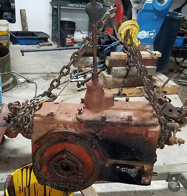 Complete Transmission Assembly Ih Farmall B Bn Tractor
