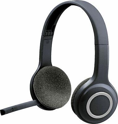 Logitech - H600 Wireless Headset - Black