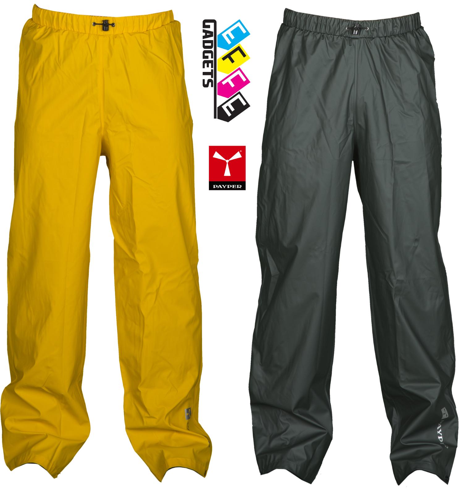 Pantalone Impermeabile da Lavoro Dry pants Payper pioggia con elastico tipo kway