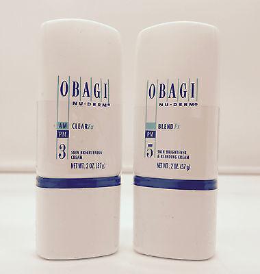 Obagi Nu Derm Clear Fx 2 oz Blend Fx 2 oz Skin Brightener Hydroquinoin Free (Obagi Nu Derm Clear Fx Skin Brightening Cream)
