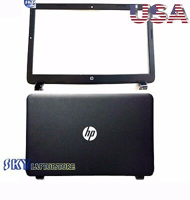New HP 15G 15R 15-G 15.6 LCD Back Cover &Front Bezel Cover 749641-001 761695-001