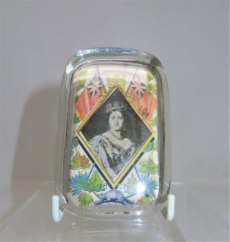 1837 Souvenir Royal Commemorative Paperweight for Queen Victoria