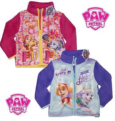 Fleecejacke PAW Patrol Jacke Polarfleece Mädchen Pink Lila Fleece Nickelodeon