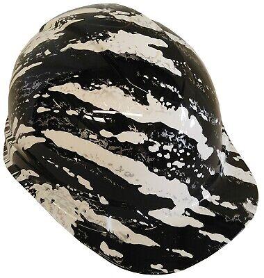 Hard Hat Ridgeline Cap Style Custom White Marble Splash W Free Brb T-shirt