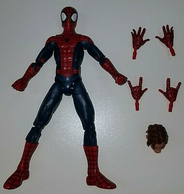 "Marvel Legends Spider-Man ULTIMATE PETER PARKER Loose 6"" Figure Hasbro 2016"