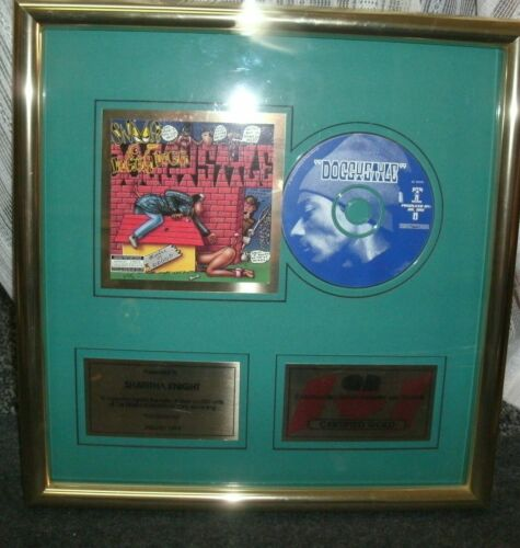 CRIA Gold Award DoggyStyle Snoop Dogg ~ Sharitha Knight Death Row Records 94 HTF