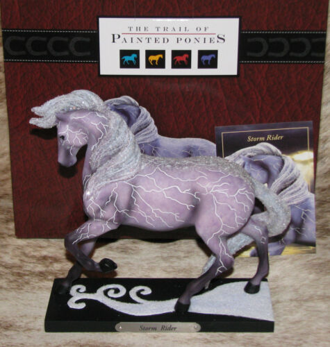 TRAIL OF PAINTED PONIES Storm Rider 3E/9440~Horse with Z-Bolts of Lightning~NIB~