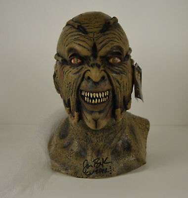 JONATHAN BRECK signed Jeepers Creepers MASK auto Officially Licensed Halloween