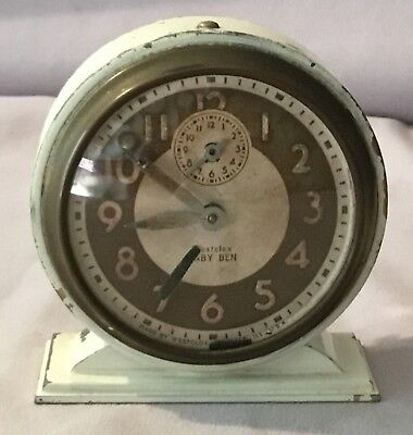 Westclox Baby Ben Alarm Clock - Style 4, used for sale  Troy