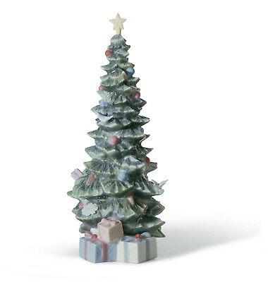 Lladro O Árbol de Navidad Estatuilla #8220 Marca Punta Vacaciones Save $$...