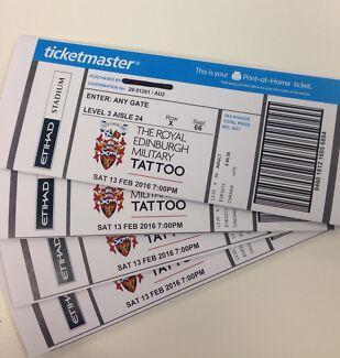 Royal Edinburgh Military Tattoo Tickets Brunswick West Moreland Area Preview