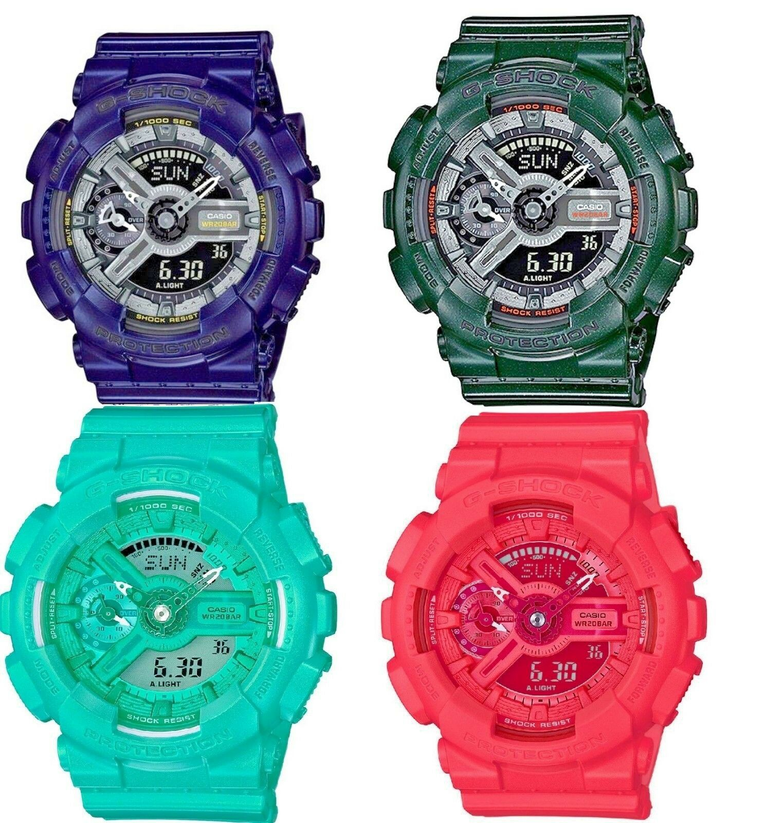 Casio G-Shock S Series Unisex Quartz Analog-Digital Alarm Mu