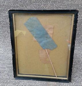Ancien cadre porte photo poser bois et pl tre art d co for Deco porte a coller
