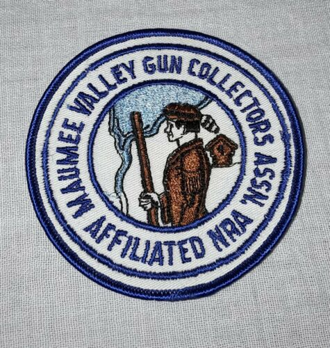 MAUMEE VALLEY GUN COLLECTORS ASSOCIATION AFFILIATED NRA PATCH