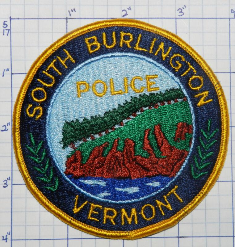 VERMONT, SOUTH BURLINGTON POLICE DEPT VERSION 3 PATCH