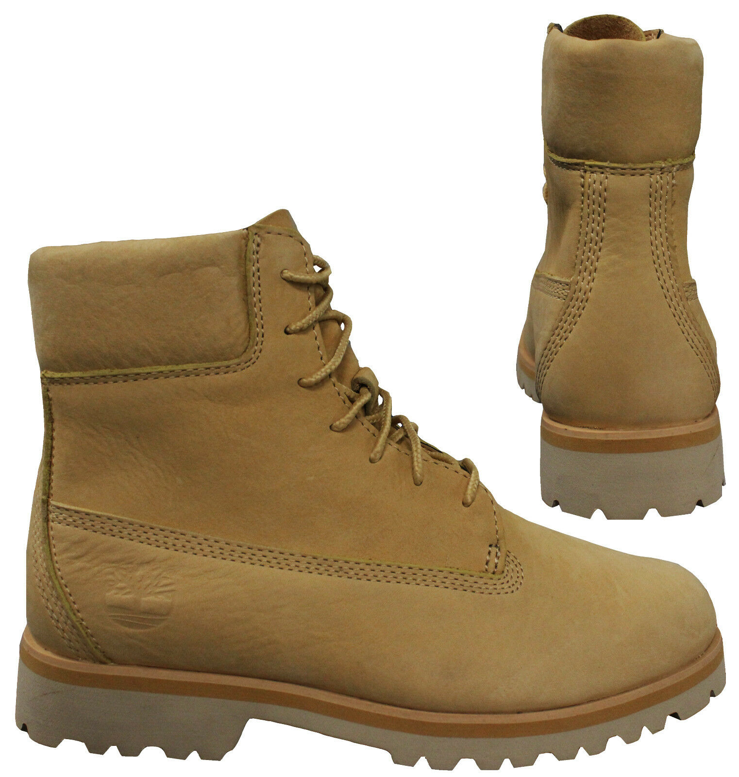 55e3df81 Timberland Chilmark 6 Inch Mens Nubuck Beige Leather Lace Up Boots ...