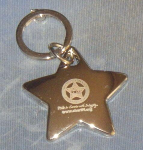 Broward Sheriff Office Fl Fla State Florida Silver Metal Star Police Key Chain