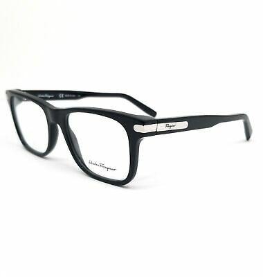 Salvatore Ferragamo Eyeglasses SF2829 001 Black Rectangle Men 53x18x140