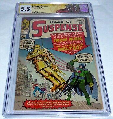 Tales of Suspense #47 CGC SS Signature Autograph STAN LEE Origin 1st Melter 🔥