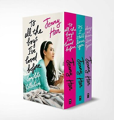 To All The Boys I've Love Before Boxed 3 Book Set Jenny Hann (RRP £20.97) NEW