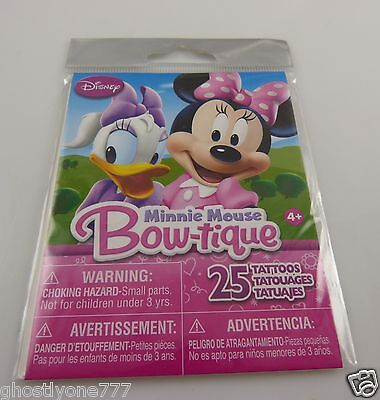 Minnie Mouse Tattoos (Minnie Mouse Bow-tique Temporary tattoos body art )