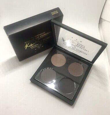 Nib MAC EYE SHADOW x4 pallet KABUKI MAGIC *THE BEST OF (The Best Mac Eyeshadows)