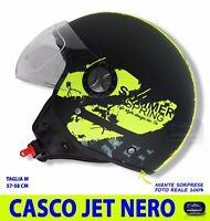 I9869 CASCO CROSS SWAPS BLUR S818 NERO//GIALLO FLUO//VERDE OPACO TAGLIA M