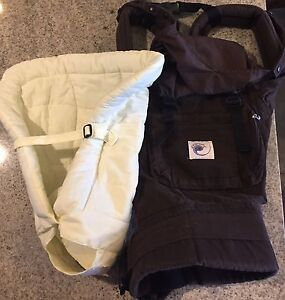 Ergo Original baby carrier with infant insert