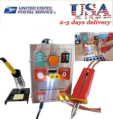2 In 1 Pulse Spot Welder 709a Battery Welding Soldering Machine 1.9kw 60a Easy A