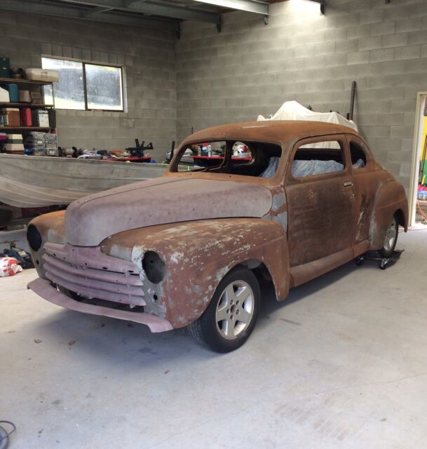 HOTROD- UNFINISHED PROJECT CAR- 1947 FORD COUP