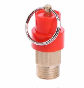 1/4'' BSP 8 Bar Air Compressor Safety Release Valve Pressure Relief Regulator UK