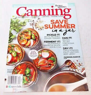 Better Homes and Gardens Special - Canning-Save Summer in a Jar 2016](Garden In A Jar)