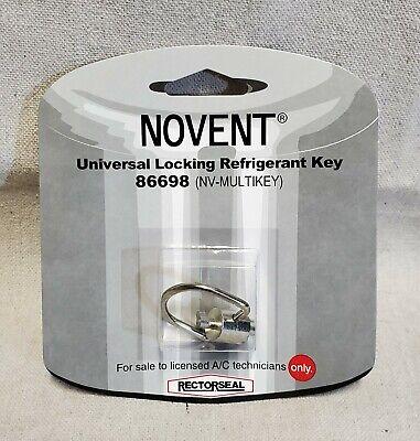Novent Universal Locking Refrigerant Key 86698 Nv-multikey New
