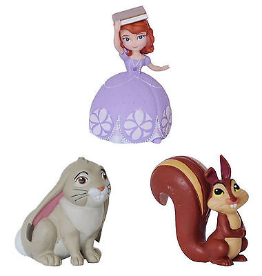 Bullyland Disney Princess Sofia The First 1st Figures Toys Cake Topper Toppers