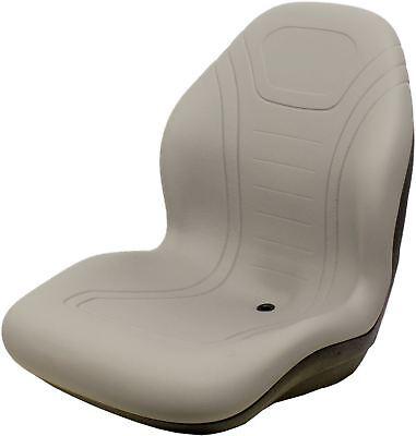Case Skid Steer Gray Bucket Seat Fits 40xt 60xt 70xt 75xt 85xt 90xt Etc
