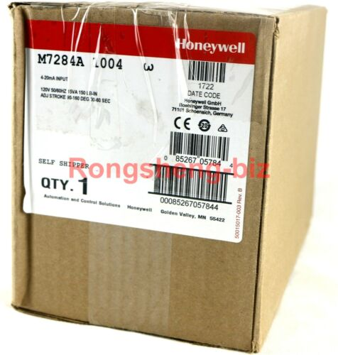 One New Honeywell M7284A1004 Motor (CS)