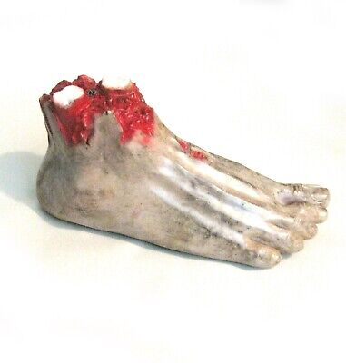 Animated Crawling Foot Scary Halloween Haunted House Party Prop 12""