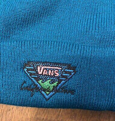 Vans Logo Black Beanie Hat