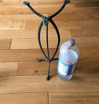 VINTAGE BRONZE HABERDASHERY STAND BY HARRIS AND SHELDON?