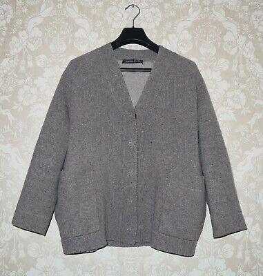 IRIS VON ARNIM Womens Cashmere Button Cardigan Sweater Size S