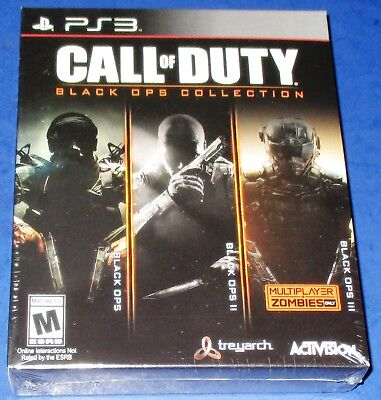 Call of Duty: Black Ops Collection PS3 *Factory Sealed! *Free