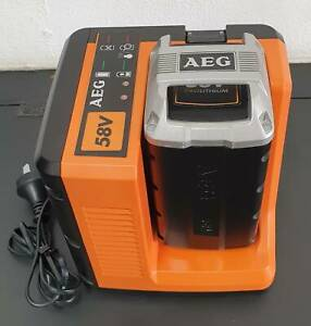 AEG 58V 4.0Ah Lithium Ion Battery and Charger Kit Toukley Wyong Area Preview