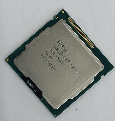 Intel Core i7-3770K Desktop CPU LGA1155 CM8063701211700 unlocked 77W Good