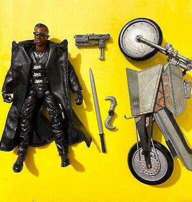 Toy Biz Marvel Legends Series 5 Blade Action Figure Motorcycle 2003 Complete MCU