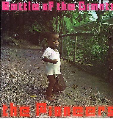 """"""" BATTLE OF THE GIANTS. """" the pioneers. TROJAN RECORDS UK orig L.P. 1970."""