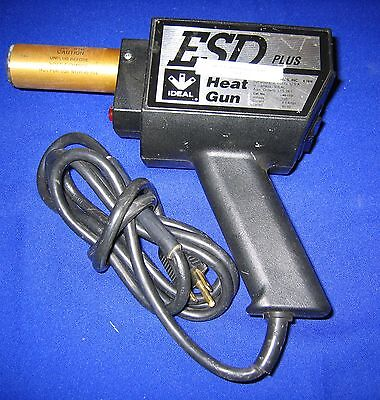 Ideal Heat Gun Esd Plus Cat 46-113 120v 60 Hz 450 W Tested Onoff Only