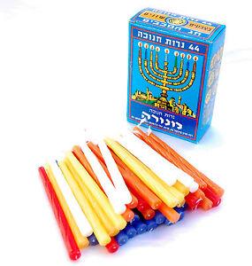 Hanukkah-Jewish-Menorah-Candles-Pack-israel-Candles