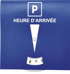 1 disque de stationnement francais zone bleue neuf ebay. Black Bedroom Furniture Sets. Home Design Ideas